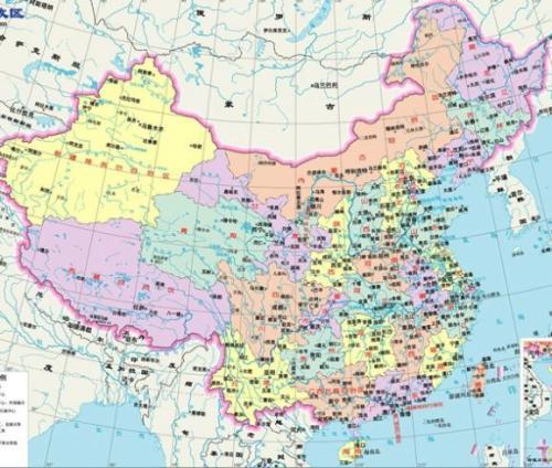 中国航线地理
